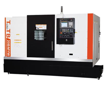Токарный обрабатывающий центр с ЧПУ с противошпинделем TTB-20BMYW от Taiwan Machine Tool Co