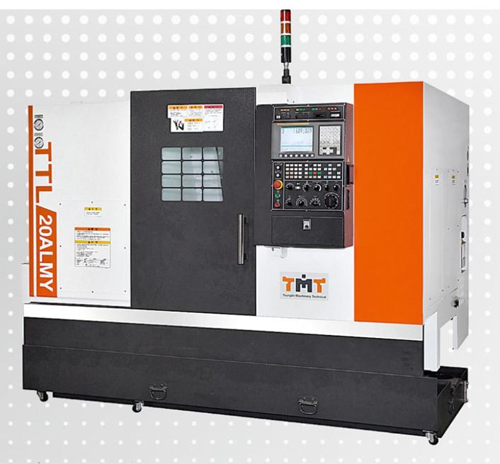 Токарный станок с ЧПУ с линейными направляющими качения TTL-20ALMY от Taiwan Machine Tool