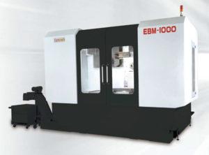 Фото горизонтально-фрезерного станка (ОЦ) с подвижной колонной с ЧПУ Eumach EBM-1000