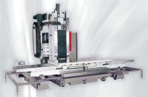 Фото станины горизонтально-фрезерного станка (ОЦ) с подвижной колонной с ЧПУ Eumach EBM-3200